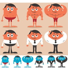Before and After vector image vector image
