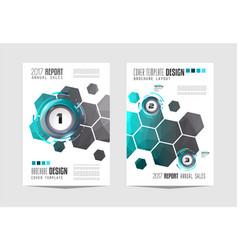 Brochur templat brochure flyer template design vector