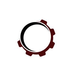 Gear template logo vector
