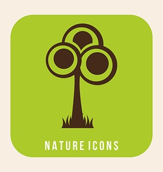 nature design vector image
