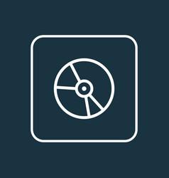Vinyl outline symbol premium quality isolated vector
