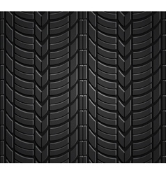 Wheel tire seamless pattern vector