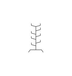 Coat racks vector