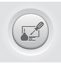 Pc repair icon vector