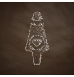 Pregnant icon vector