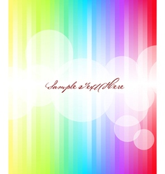 Abstract rainbow background vector