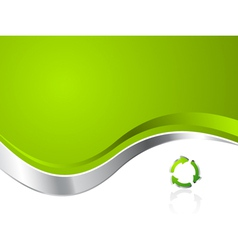 Environmental recycling background vector
