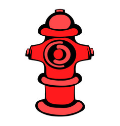 Fire hydrant icon icon cartoon vector