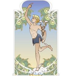 Hermes vector image