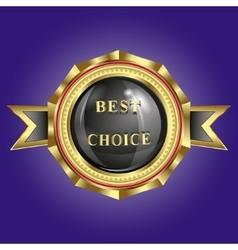 trademark best choice vector image
