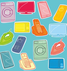 Home appliance vector