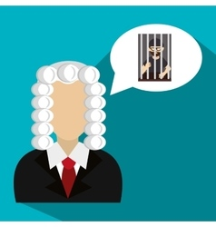 Law and legal justice graphic vector