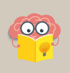 Brain Read vector image