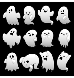 Ghost character characters vector image vector image