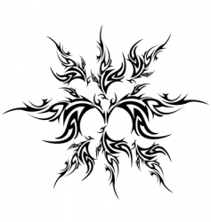 tattoo element vector image vector image