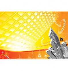 City solar power vector
