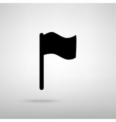 Flag sign vector