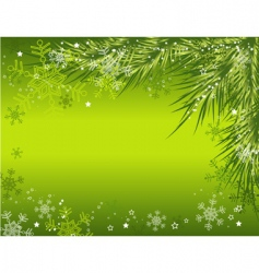 Christmas background vector vector image vector image