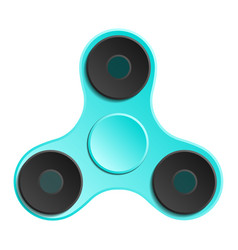 hand spinner edc fidget toy for increased focus vector image