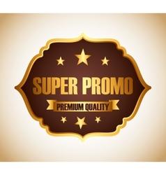 Super promo design vector