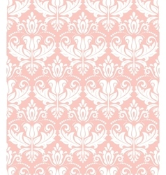 Seamless Damask Background vector image