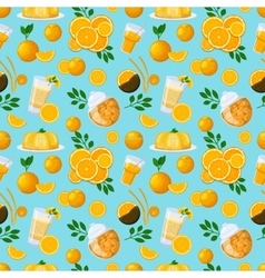 Juicy fruits and berries seamless pattern vector
