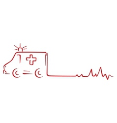 Rescue symbol vector image vector image