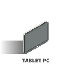tablet pc icon symbol vector image