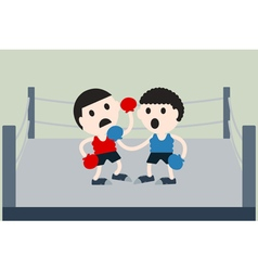 Boxer are box opponents vector