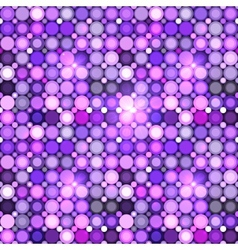 Abstract violet circles seamless pattern vector image