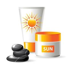 sun care vector image vector image
