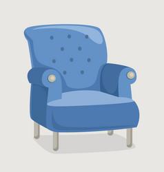 armchair eps 10 vector image vector image