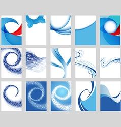 Background Set vector image