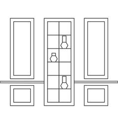 Decorative frames for interior design vector