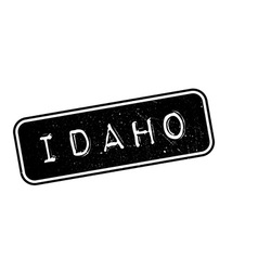 Idaho rubber stamp vector