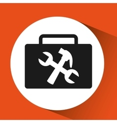 tool repair support sign icon graphic vector image