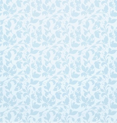 Seamless pattern blue vector