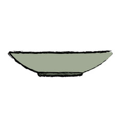 Dishware prepare food kitchen utensil vector