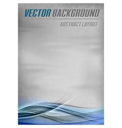 Background blue layout bottom vector