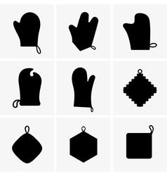 Potholders vector image