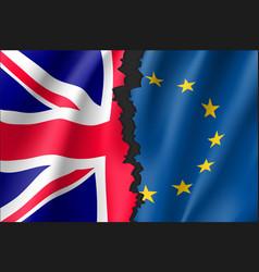 brexit symbol vector image