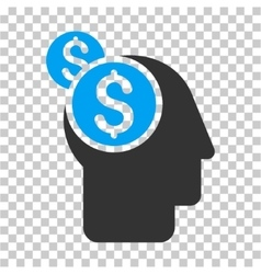 Business thinking icon vector