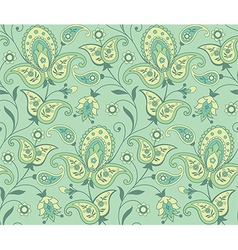 Paisley seamless background vector image vector image