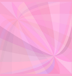 pink abstract background - design from curved ray vector image vector image