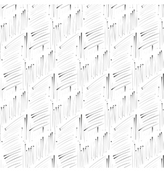 Hatch ink imitation seamless pattern vector image vector image