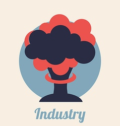 industry signal design vector image vector image