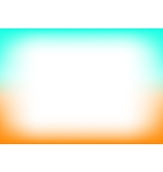 Orange blue copyspace background vector