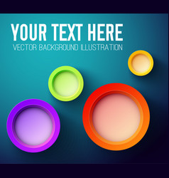 Your text here abstract background vector