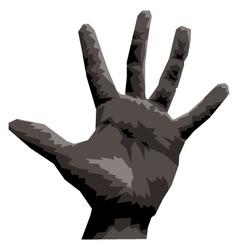 Hand five vector