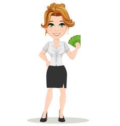 Businesswoman 13 vector